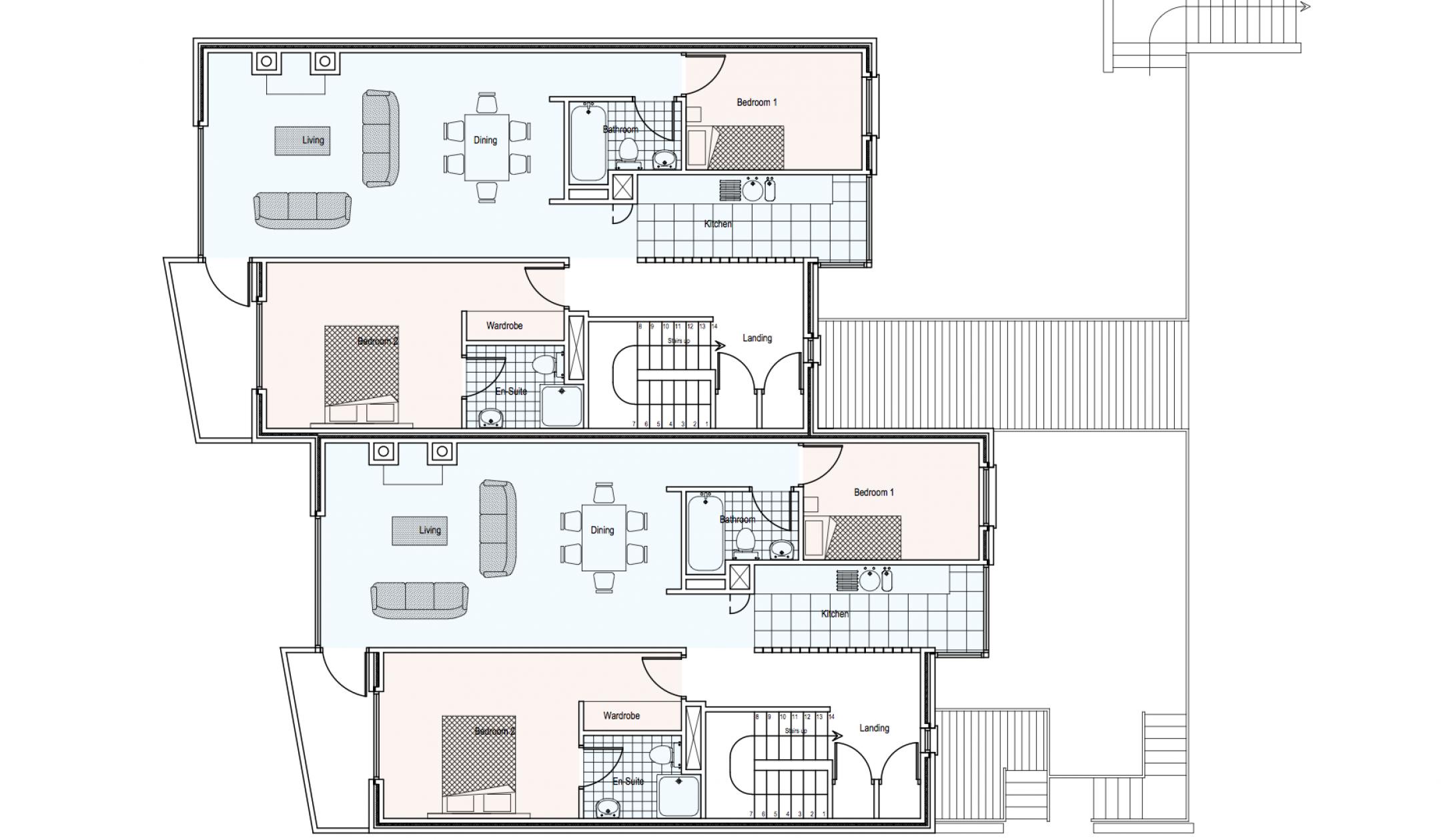 Ard Na Gceapairi Apartments First Floor Plan
