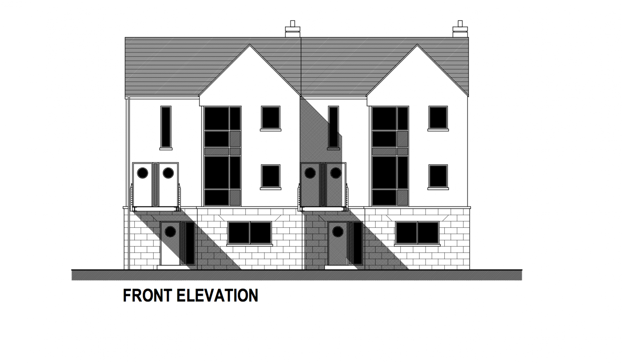 Ard Na Gceapairi Apartments Front Elevation