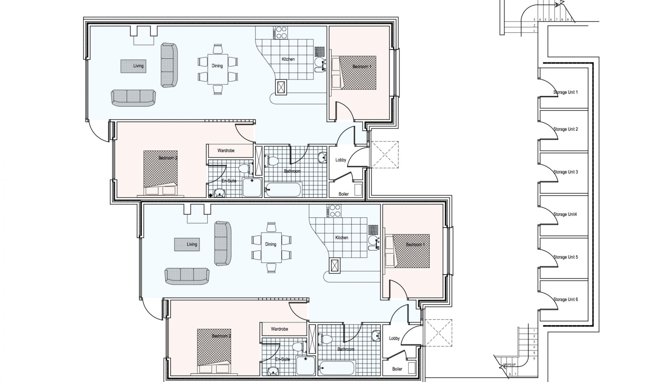 Ard Na Gceapairi Apartments Lower Ground Floor Plan