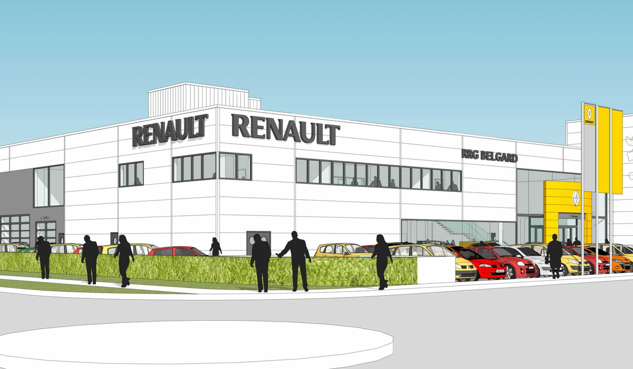 Renault Belgard Showroom