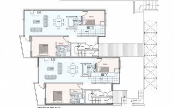 Ard Na Gceapairi Apartments Ground Floor Plan