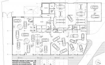 Highland Motors Renault Ground Floor Plan