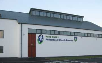 Pobalscoil Ghaoth Dobhair Pe Hall
